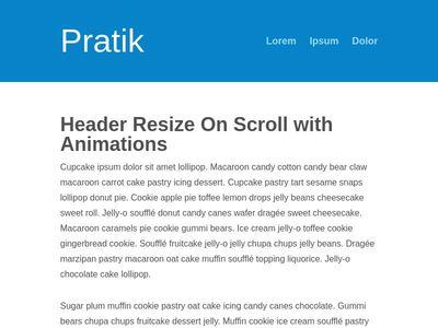 how to make fixed header navbar html css