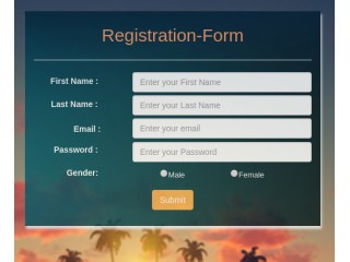 REGISTER AND LOGIN FORM WITH BOOTSTRAP WITH NEW UI