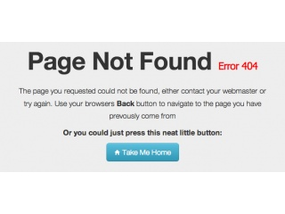 Sample 404 page