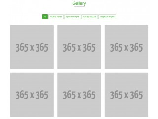 Bootstrap Snippet Portfolio Gallery with filtering category using