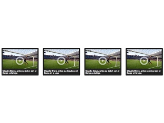 Video list thumbnails