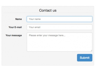 Simplest contact form