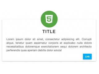 Bootstrap Snippet Box Material Design using HTML CSS Bootstrap