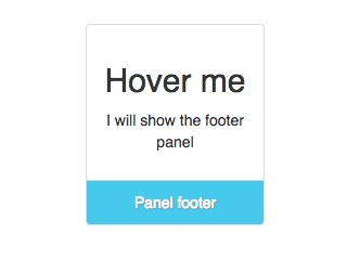 Bootstrap Footer Examples