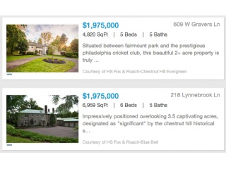 Real Estate Media Listings