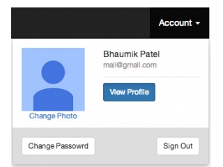 Bootstrap and jQuery 'Account setting page' code snippets