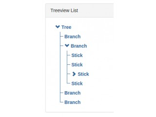 """BootTree"" TreeView for Bootstrap"