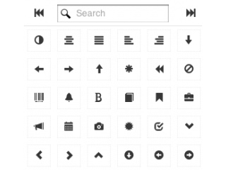 Bootstrap Icon Picker