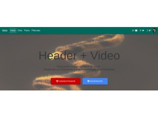Header + Video + BS4 + MDB [2017]