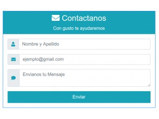 Bootstrap Contact Examples