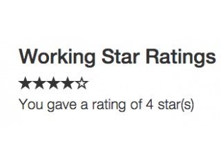Functional Star Ratings