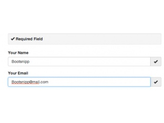 Bootstrap 3.x Contact Form Layout