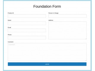 Foundation Form