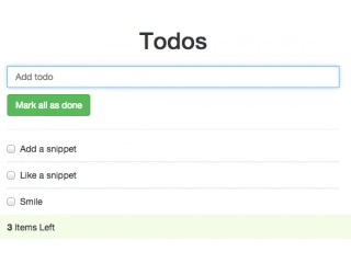 bootstrap snippet todo example using html css bootstrap javascript