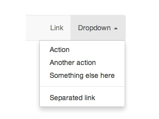 Show Dropdown Hover & Caret Up
