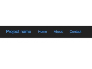 Bootstrap Snippet Navbar fixed on scrolling (with transition