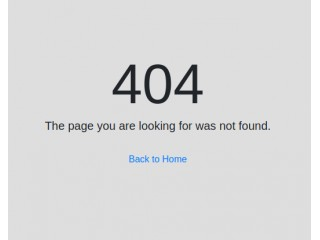 Simple & Clean 404 Error Page style