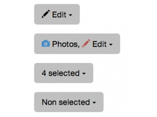 Bootstrap Snippet Multiselect with icons using HTML CSS Bootstrap jQuery