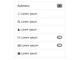 Bootstrap Snippet Nav Sidebar With Toggle Button using HTML