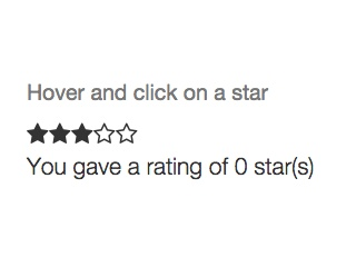 Font Awesome Star Ratings