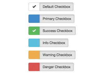 Fancy Bootstrap Checkboxes