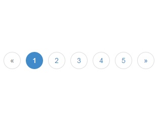 Rounded Pagination