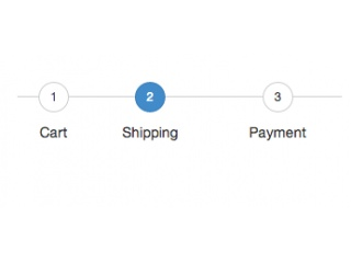 bootstrap snippet process steps using html css