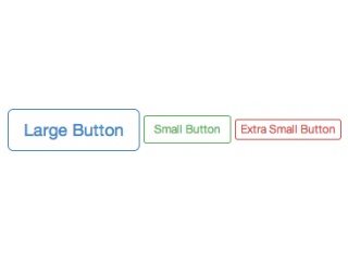 Bootstrap Outline Buttons