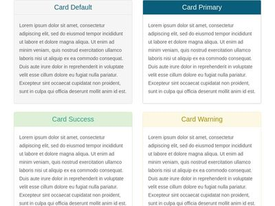 eLearning cards