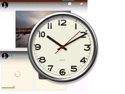"""clock design css 3 with Youtube Embed Video"" (Manish Yadav)"