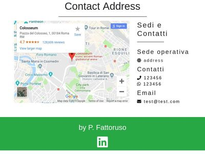 contact maps info