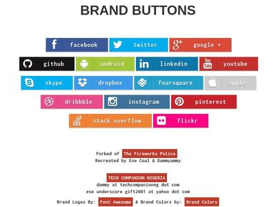 BRAND BUTTONS