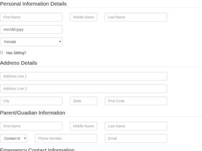 VietNgu Registration Form