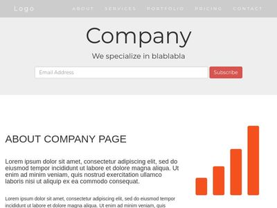 full page responsive