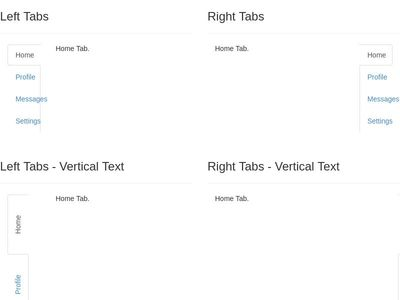 Bootstrap Snippet Bootstrap Vertical Tabs using HTML CSS Bootstrap