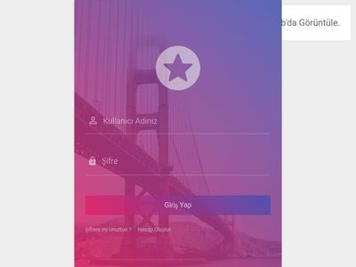 Material Design Login - Register Form