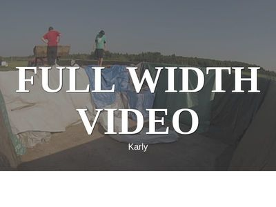 Karly Full Width Screen Video Background
