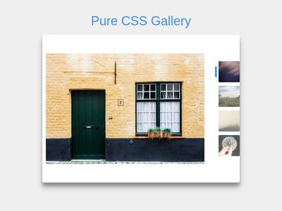 pure css gallery