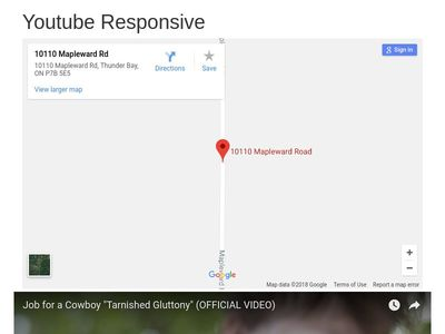 TEST: Youtube responsive