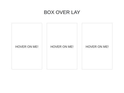 BOX OVER LAY