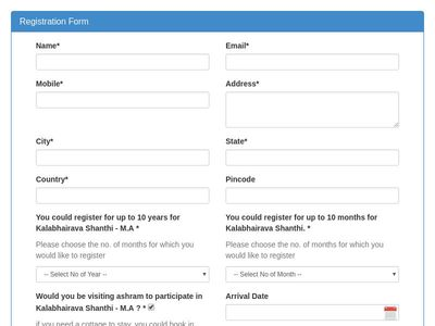 Bootstrap Snippet Bootstrap 3 registration form example using HTML ...