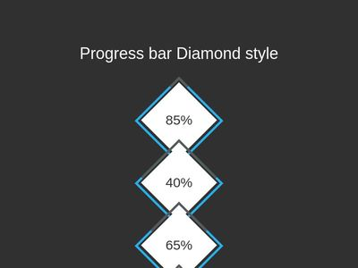 Progress bar Diamond style
