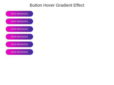 CSS Gradient Button Hover Effect