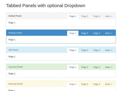 Tabbed Panels Reloaded