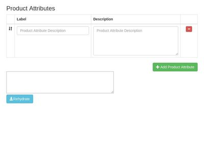 Add & Remove Product Attributes Sortable 2