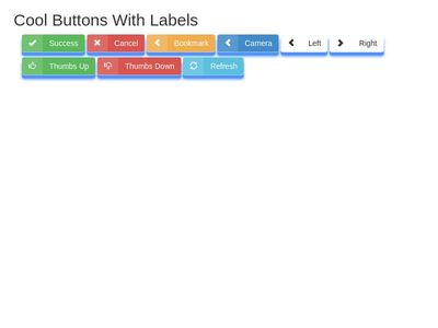 Buttons With Labels 3D почти)