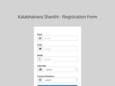 KBS Registration Form
