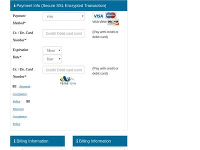 payment user interface