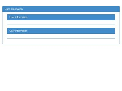Dropdown userlist plus administration fully responsive