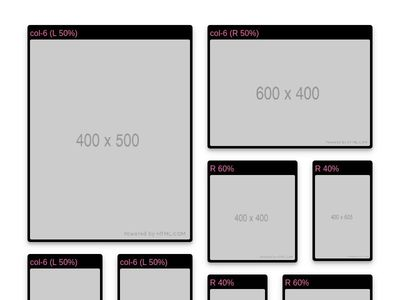 Tiles using bootstrap grid ( Winson222 )